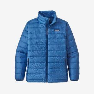 PATAGONIA Kids Sweater Puffer Down Jacket M/10 EUC
